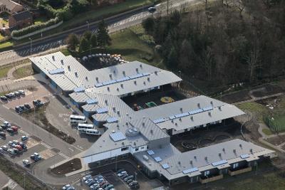 Isobel Mair School aerial